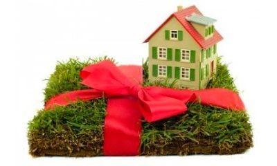 Земля и дом в подарок
